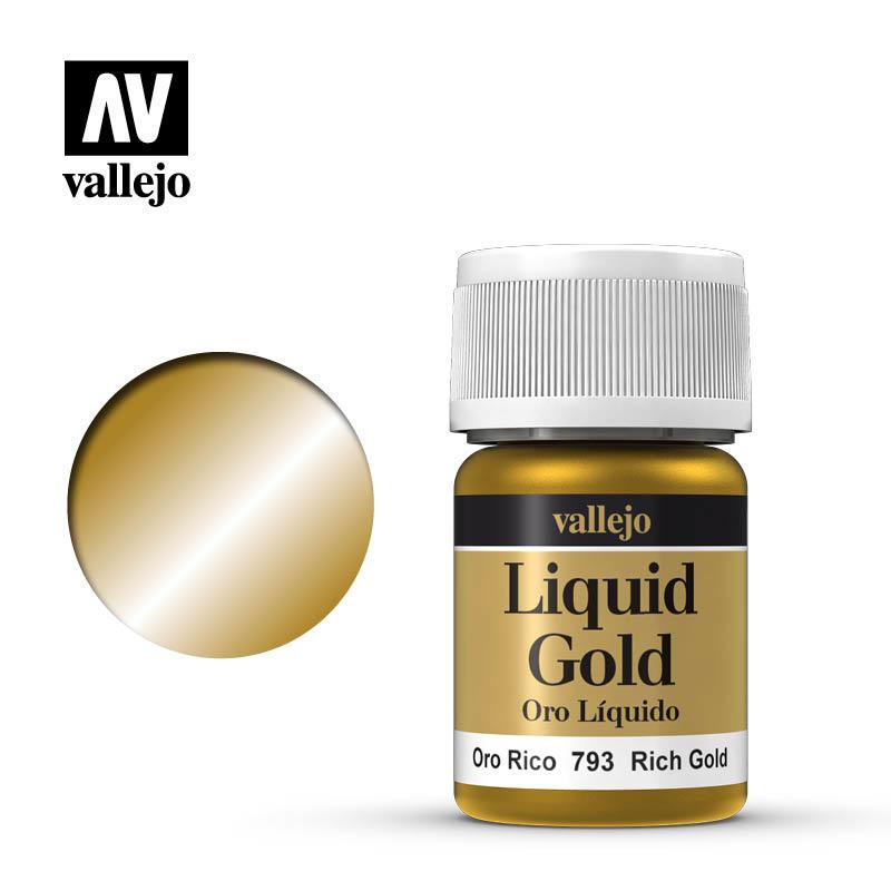Vallejo Model Color - Rich Gold - 35 ml - Vallejo - VAL-70793