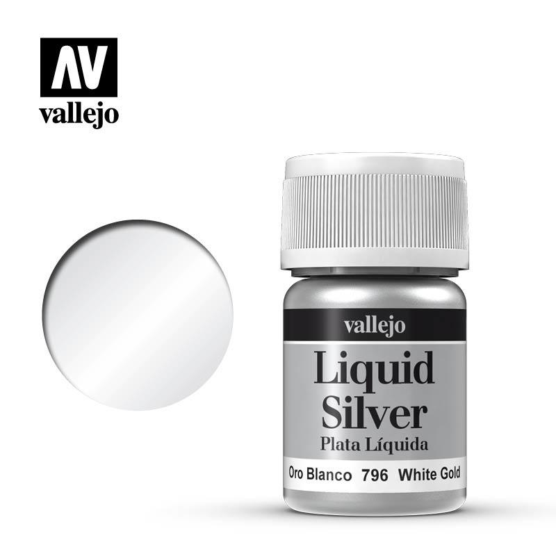 Vallejo Model Color - White Gold - 35 ml - Vallejo - VAL-70796