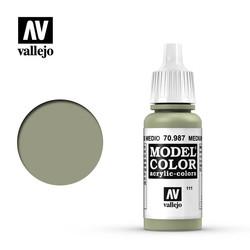 Model Color - Medium Grey - 17 ml - Vallejo - VAL-70987