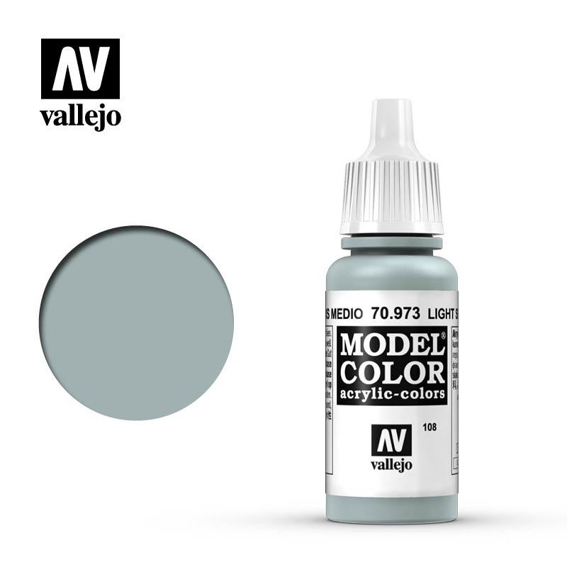 Vallejo Model Color - Lt. Sea Grey - 17 ml - Vallejo - VAL-70973