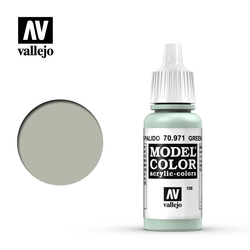 Vallejo Model Color - Green Grey - 17 ml - Vallejo - VAL-70971