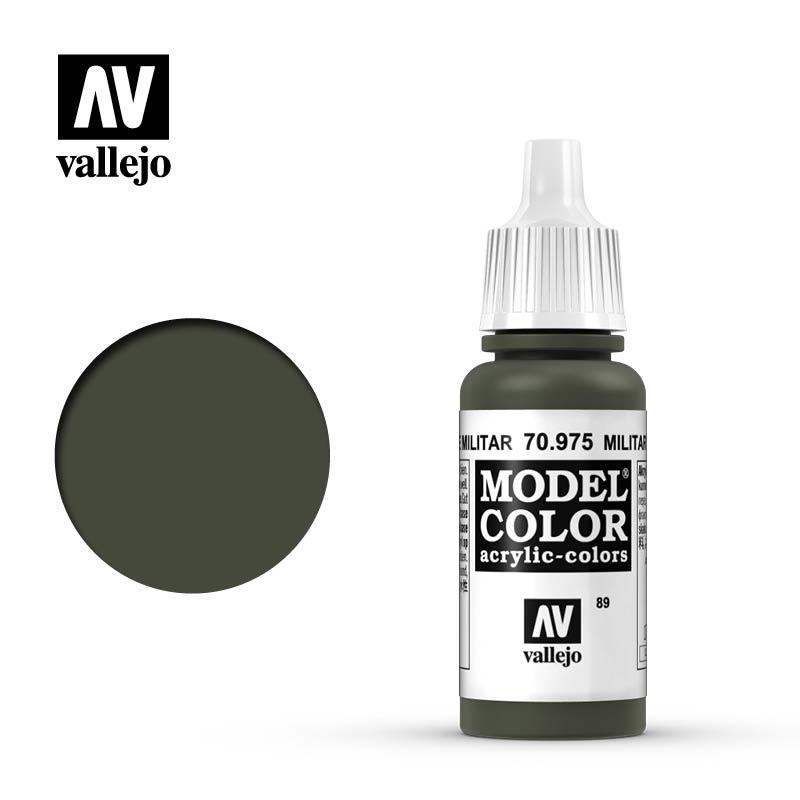 Vallejo Model Color - Militar Green - 17 ml - Vallejo - VAL-70975