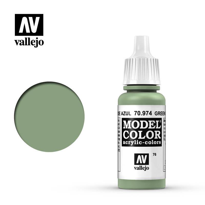 Vallejo Model Color - Green Sky - 17 ml - Vallejo - VAL-70974