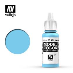 Model Color - Sky Blue - 17 ml - Vallejo - VAL-70961