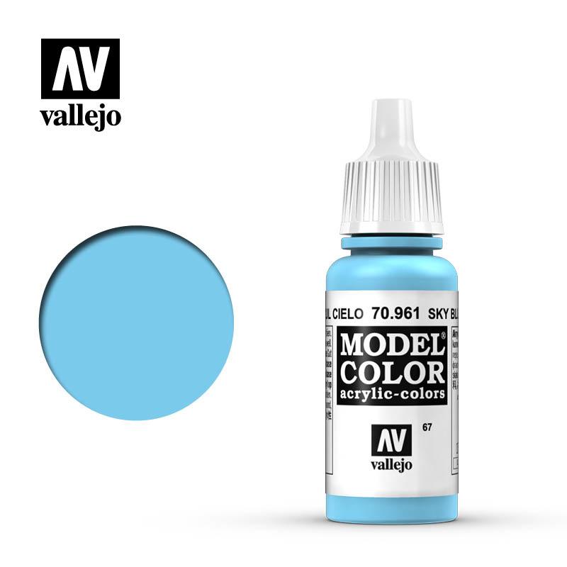 Vallejo Model Color - Sky Blue - 17 ml - Vallejo - VAL-70961