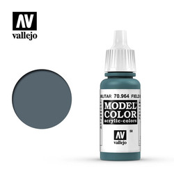 Model Color - Field Blue - 17 ml - Vallejo - VAL-70964