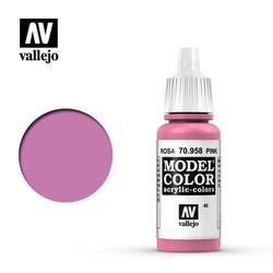 Model Color - Pink - 17 ml - Vallejo - VAL-70958