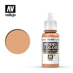 Model Color - Flat Flesh - 17 ml - Vallejo - VAL-70955