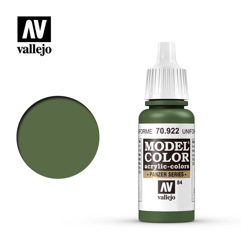 Vallejo Model Color - Usa Uniform - 17 ml - Vallejo - VAL-70922