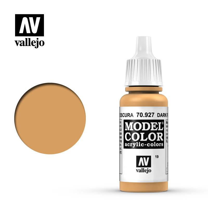Vallejo Model Color - Dark Flesh - 17 ml - Vallejo - VAL-70927