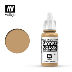 Model Color - Tan Yellow - 17 ml - Vallejo - VAL-70912