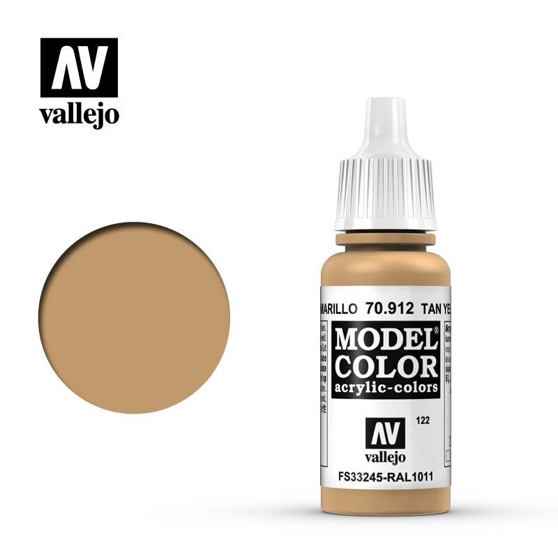 Vallejo Model Color - Tan Yellow - 17 ml - Vallejo - VAL-70912
