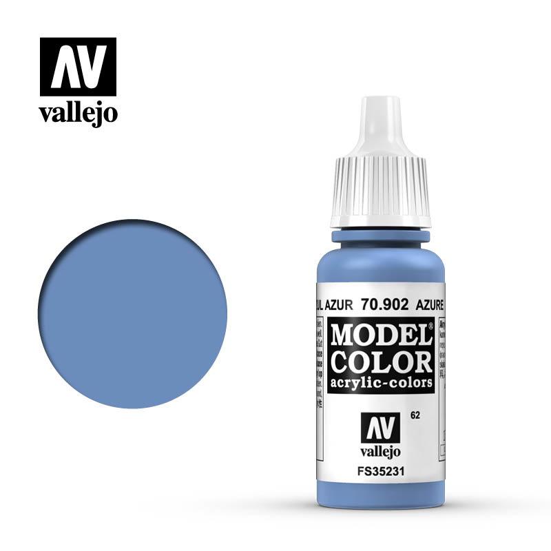 Vallejo Model Color - Azure - 17 ml - Vallejo - VAL-70902
