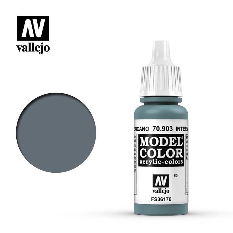 Vallejo Model Color - Intermed.Blue - 17 ml - Vallejo - VAL-70903