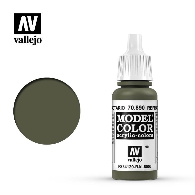 Vallejo Model Color - Refractive Green - 17 ml - Vallejo - VAL-70890