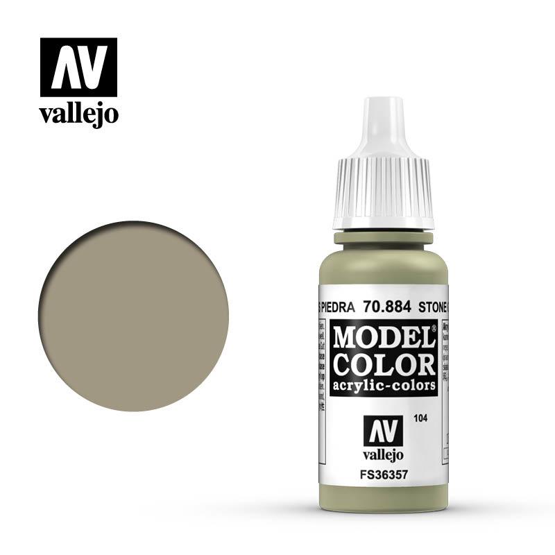 Vallejo Model Color - Stone Grey - 17 ml - Vallejo - VAL-70884