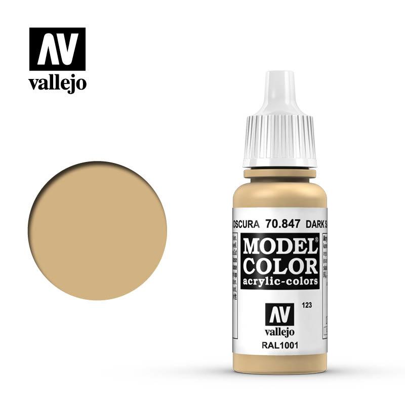 Vallejo Model Color - Dark Sand - 17 ml - Vallejo - VAL-70847