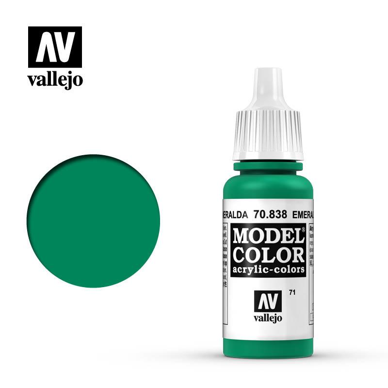 Vallejo Model Color - Emerald - 17 ml - Vallejo - VAL-70838