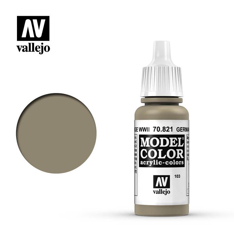 Vallejo Model Color - Ger.C.Beige - 17 ml - Vallejo - VAL-70821