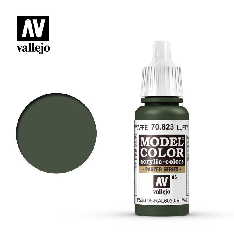 Vallejo Model Color - L.W.Cam.Green - 17 ml - Vallejo - VAL-70823