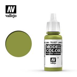 Model Color - Lime Green - 17 ml - Vallejo - VAL-70827