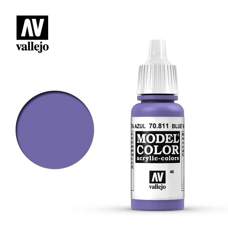 Vallejo Model Color - Blue Violet - 17 ml - Vallejo - VAL-70811