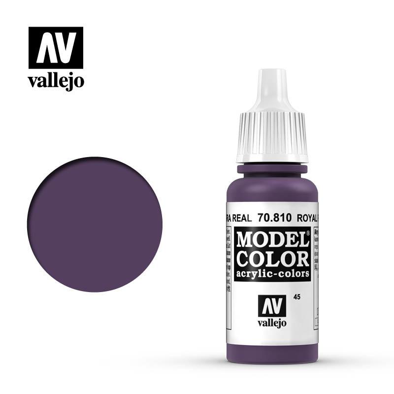 Vallejo Model Color - Royal Purple - 17 ml - Vallejo - VAL-70810