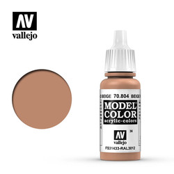 Model Color - Beige Red - 17 ml - Vallejo - VAL-70804