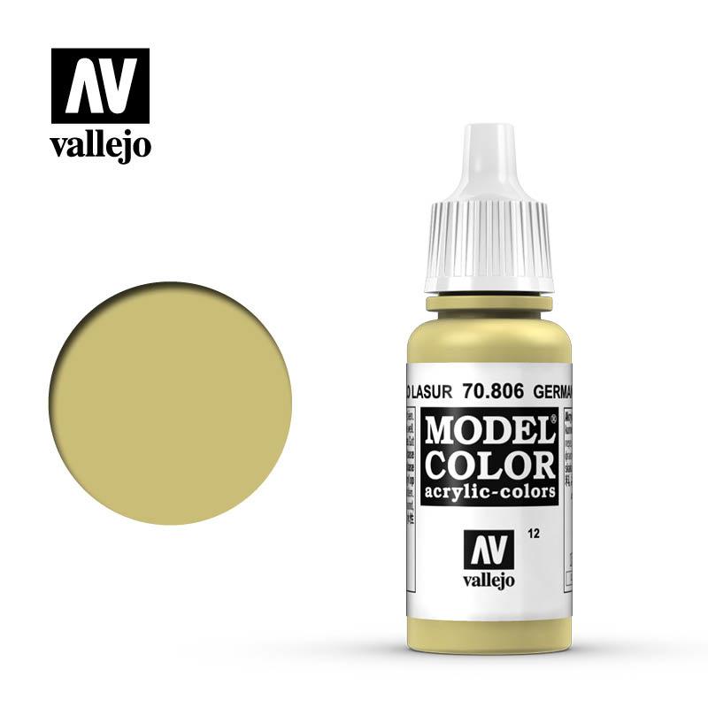 Vallejo Model Color - German Yellow - 17 ml - Vallejo - VAL-70806