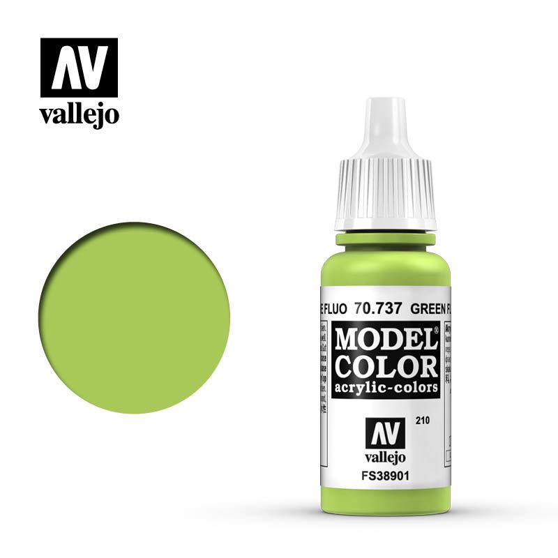 Vallejo Model Color - Green Fluo - 17 ml - Vallejo - VAL-70737