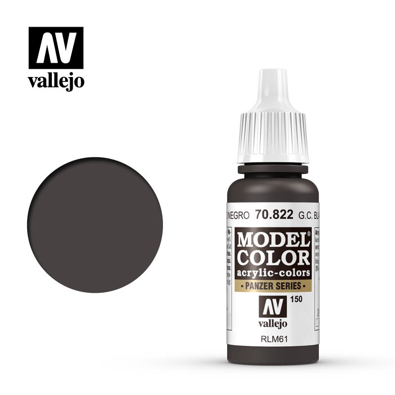 Vallejo Model Color - G.C.Bla.Brown - 17 ml - Vallejo - VAL-70822