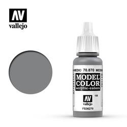 Model Color - Med. Sea Grey - 17 ml - Vallejo - VAL-70870