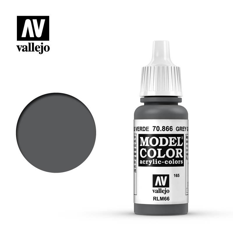 Vallejo Model Color - Grey Green - 17 ml - Vallejo - VAL-70866