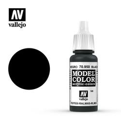 Model Color - Black - 17 ml - Vallejo - VAL-70950
