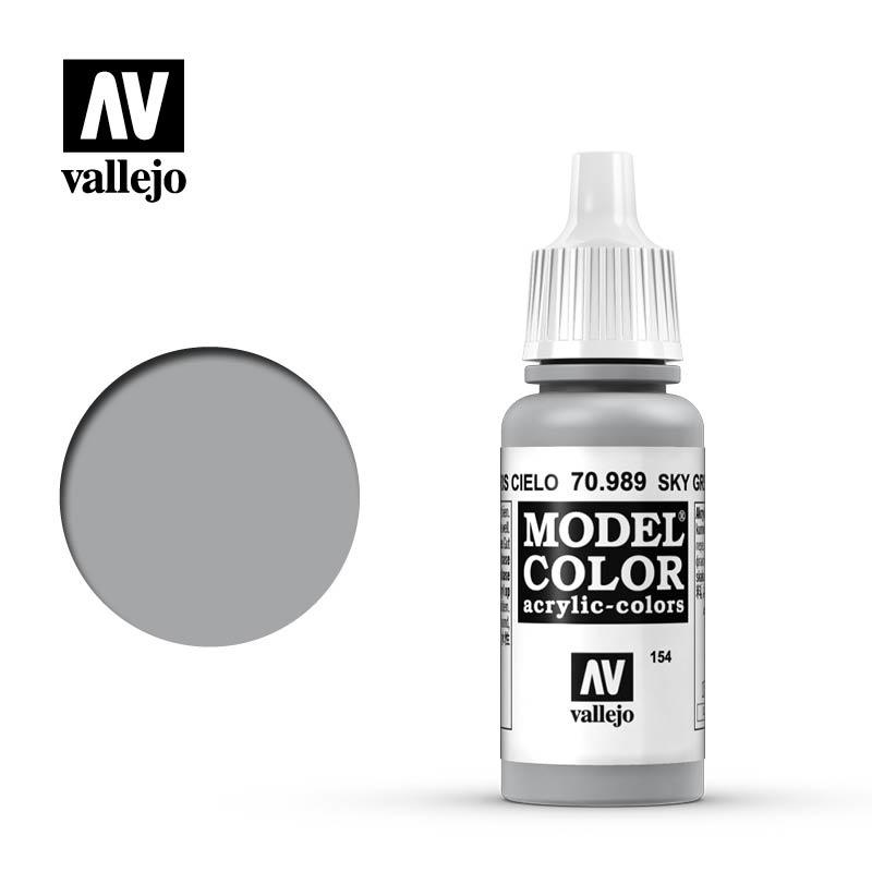 Vallejo Model Color - Sky Grey - 17 ml - Vallejo - VAL-70989