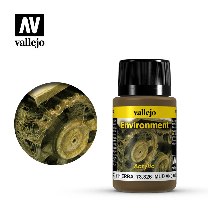 Vallejo Mud and Grass Effect - 40ml - Vallejo - VAL-73826
