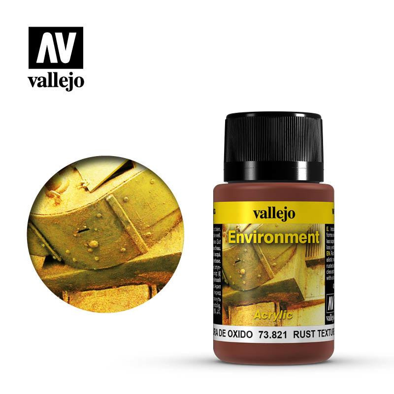 Vallejo Rust Texture - 40ml - Vallejo - VAL-73821