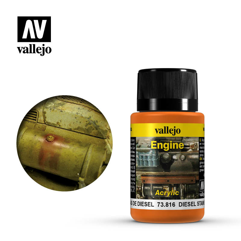Vallejo Diesel Stains - 40ml - Vallejo - VAL-73816
