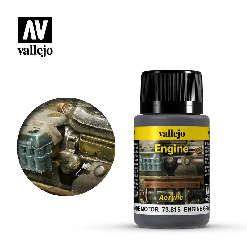 Vallejo Engine Grime - 40ml - Vallejo - VAL-73815