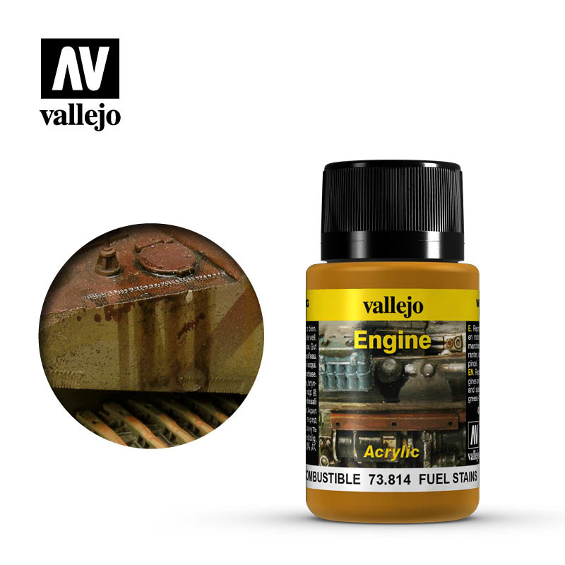 Vallejo Fuel Stains - 40ml - Vallejo - VAL-73814