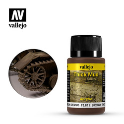 Brown Thick Mud - 40ml - Vallejo - VAL-73811