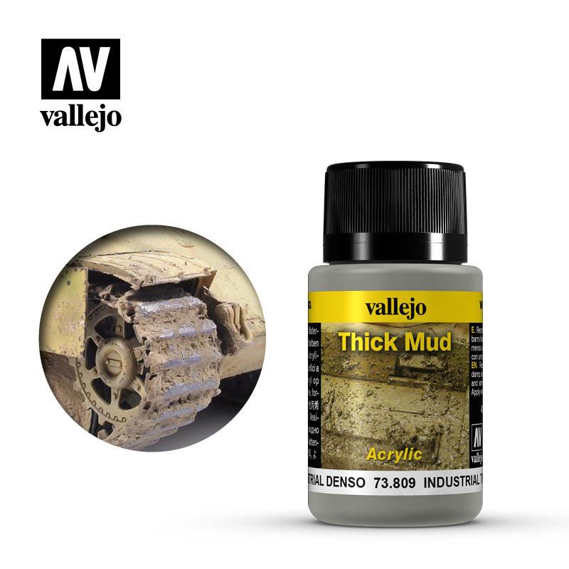 Vallejo Industrial Thick Mud - 40ml - Vallejo - VAL-73809