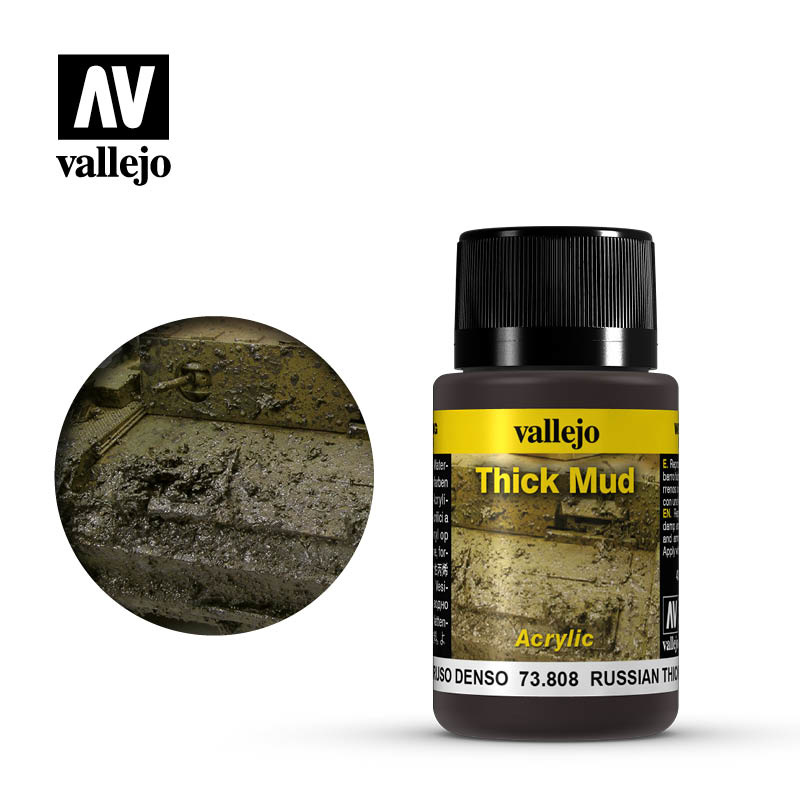 Vallejo Russian Thick Mud - 40ml - Vallejo - VAL-73808