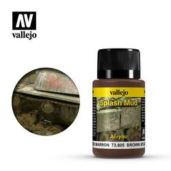 Brown Splash Mud - 40ml - Vallejo - VAL-73805