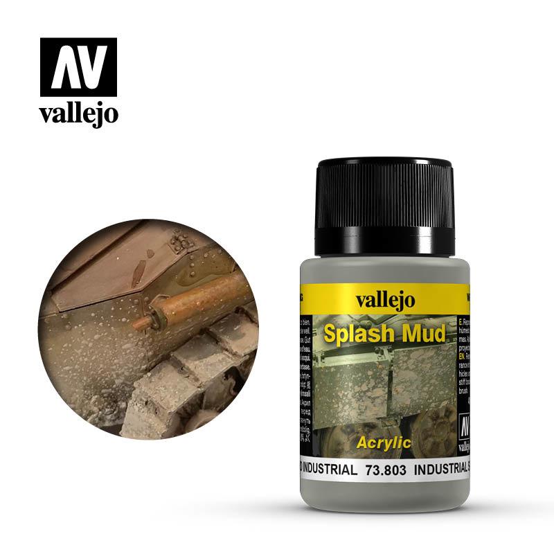 Vallejo Industrial Splash Mud - 40ml - Vallejo - VAL-73803
