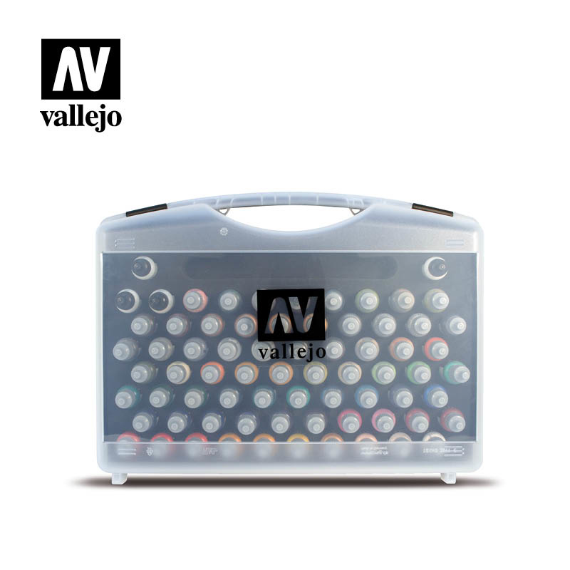 Vallejo Box With 72 Game Color - Vallejo - VAL-72172