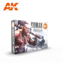 Human Flesh Tones - AK-Interactive - AK-11603