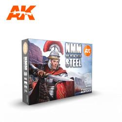 Non Metallic Metal: Steel - AK-Interactive - AK-11601
