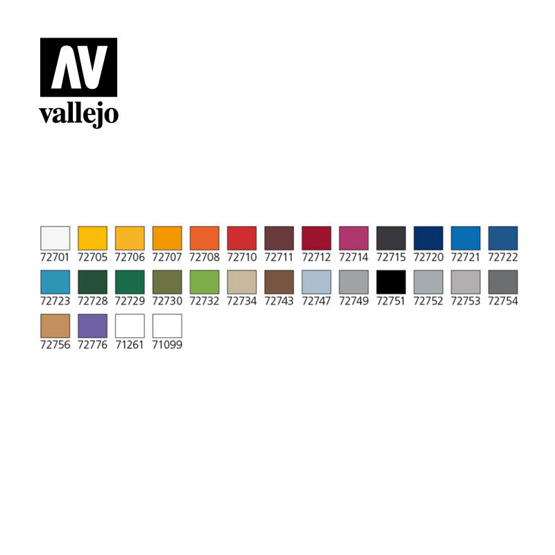 Vallejo Basic Game Air Colors (29) & Airbrush - Vallejo - VAL-72871