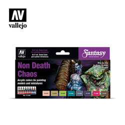 Game Color Non Death Set - Vallejo - VAL-72302